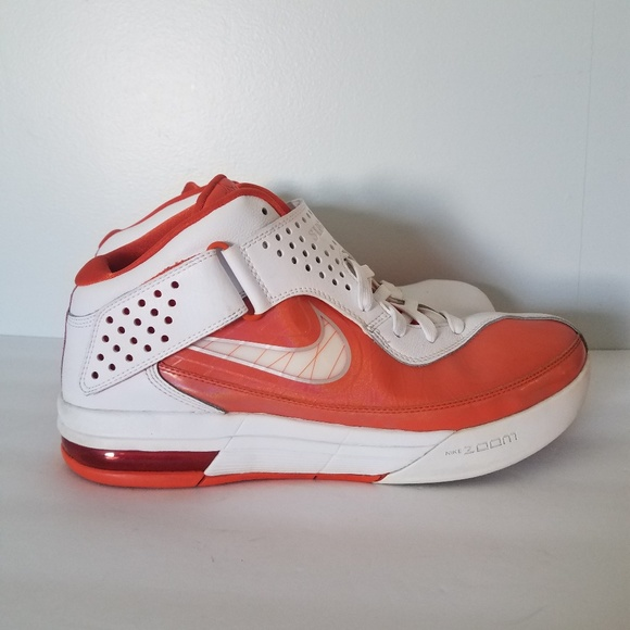2de81e61d128 Nike Lebron Soldier V Air Max Shoes Orange White. M 5b6f5bd412cd4a428a5b3327